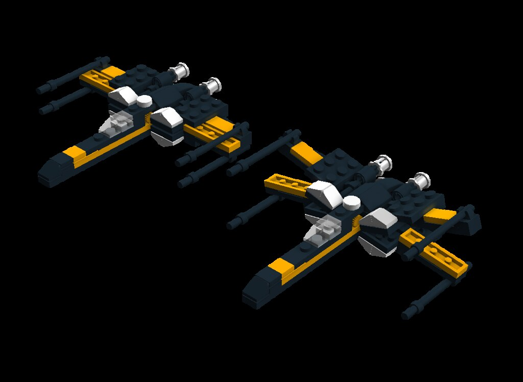 Mini Poes X Wing Ldd Building Instructions By Thebloke Flickr