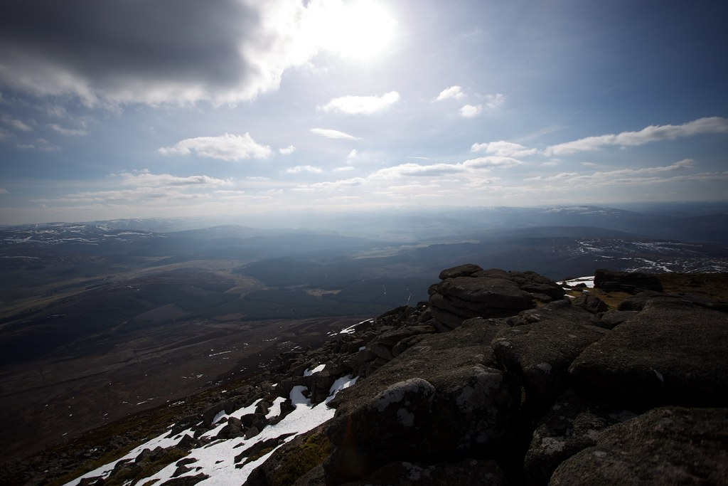 Cairngorms from Ben Rinnes