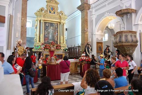 Frazzanò - Giubileo S. Lorenzo - 22 luglio 2012 - Incontro dei Santi