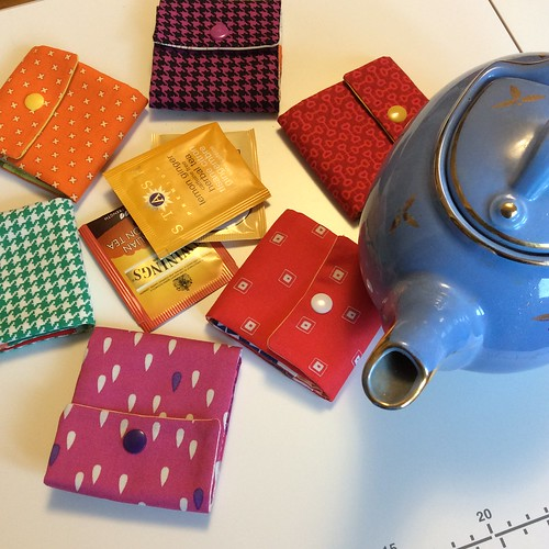 Teabag Pouches | by retired to quilt