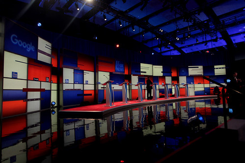 Republican Party debate stage | by Gage Skidmore