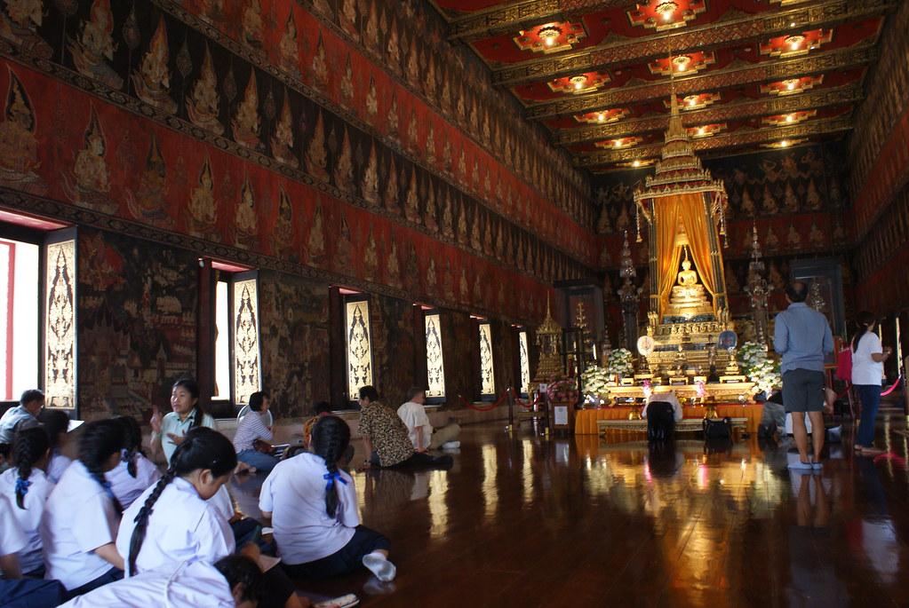 Temple bouddhiste dans le Musée National.