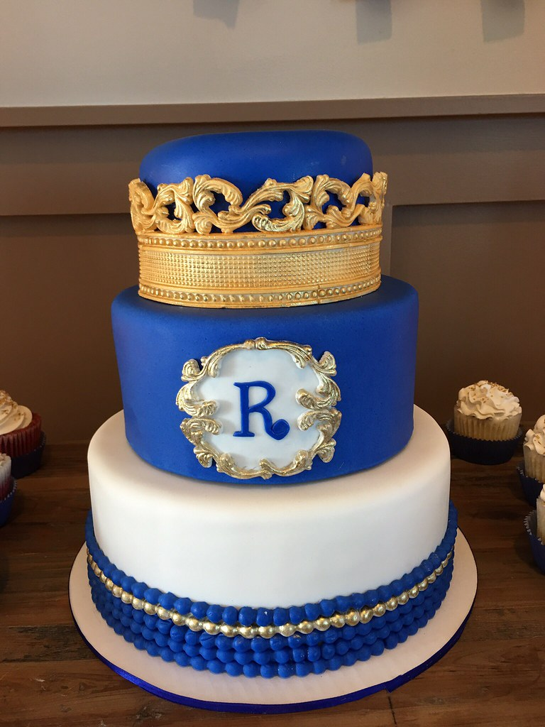 ... Royal Themed Baby Shower Cake | By Sweet Eden