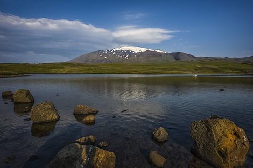 Snæfellsjökull steinar