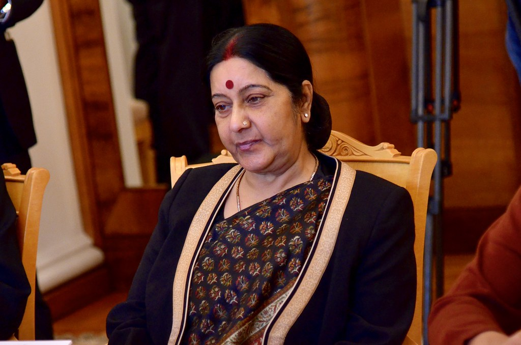 Sushma Swaraj to attend BIMSTEC Foreign Minister`s meet in Nepal