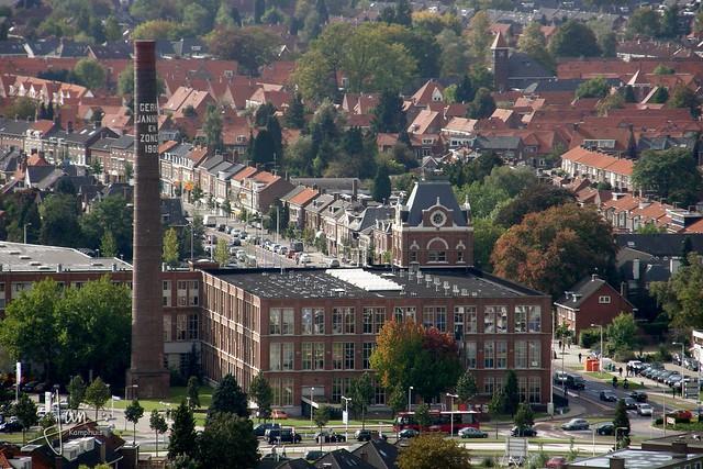 Enschede 2009 - Uitzicht vanaf Alphatoren: Jannink