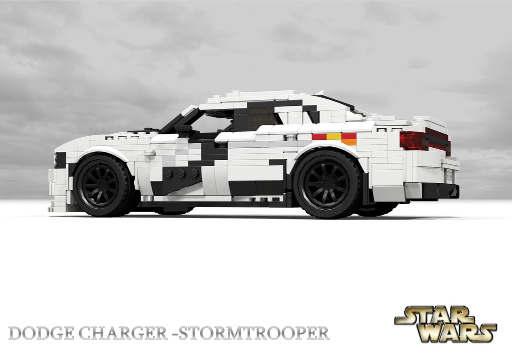 dodge charger srt hellcat starwars stormtrooper as part flickr