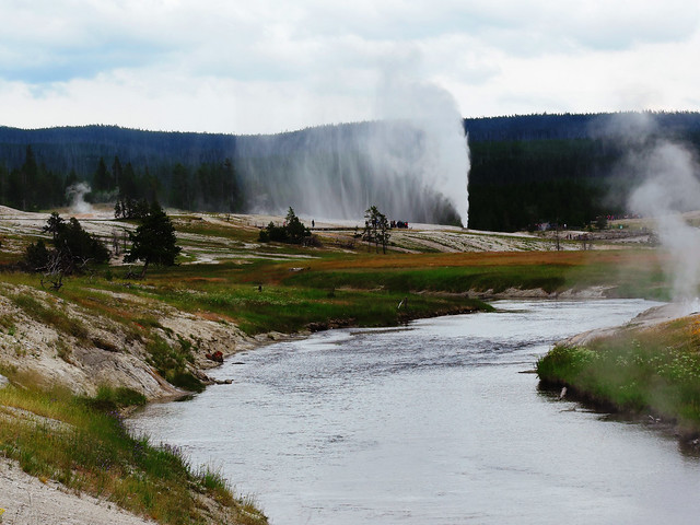 Upper Geyser Basin, Yellowstone National Park, USA