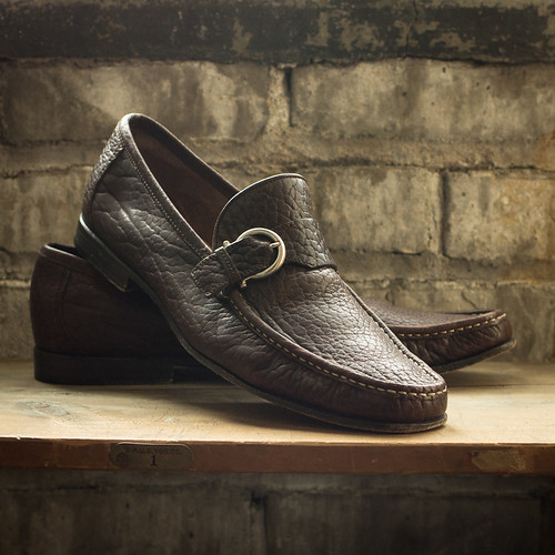 Ferragamo Loafer Shoes Men