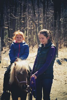 Portrait Nature Horses Kids | by shufflepath-net