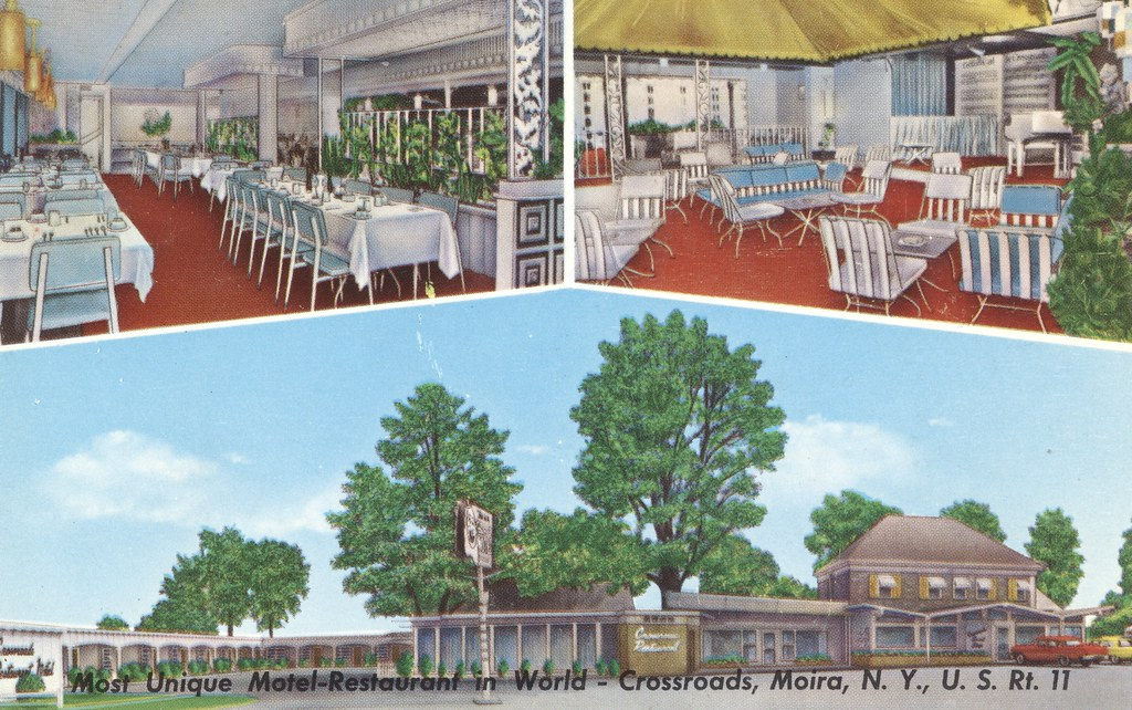Crossroads Motel-Restaurant - Moira, New York