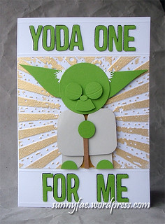 Yoda One Valentines Card