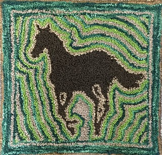 Needle Punch Horse Rug | by Twill Power