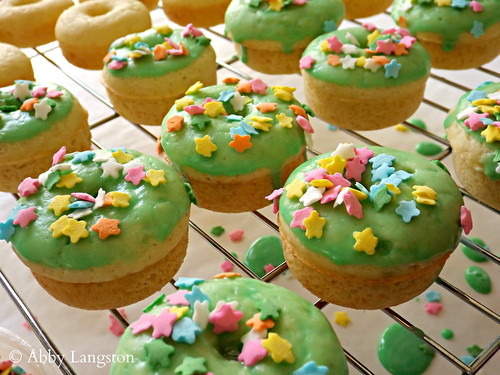 Mini St. Patrick's Day Donuts | by Confabulation
