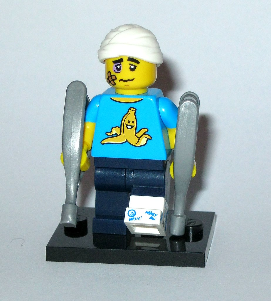 Lego Series 15 Clumsy Guy Minifigure