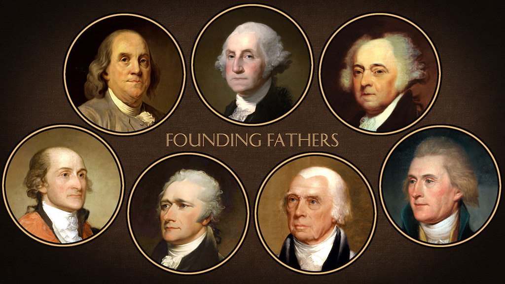 the strong foundation of america set by the four founding fathers of the united states 66 quotes have been tagged as founding-fathers: it was from the habit of using strong phrases to express my ideas a founding father of the united states.