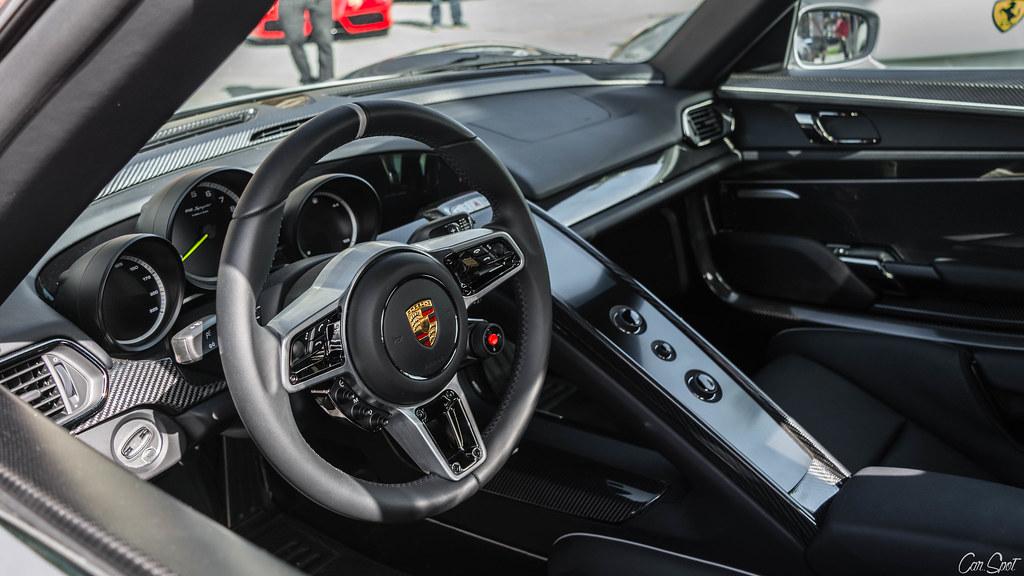 ... Porsche 918 Interior   By Car.spot