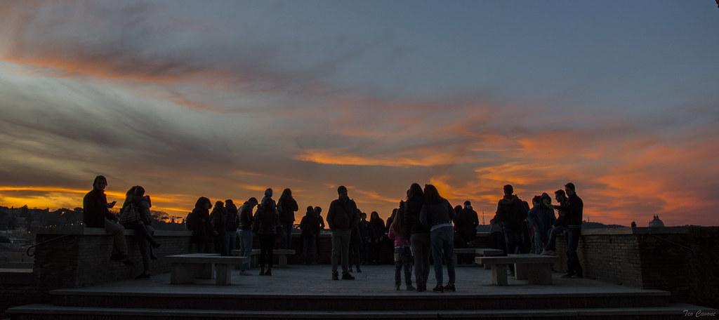 Roma - Sunset alla terrazza del Giardino degli Aranci | Flickr