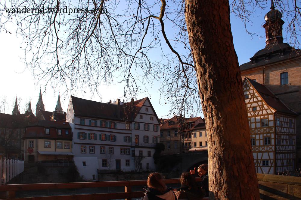Bamberg: Blick auf das Alte Rathaus