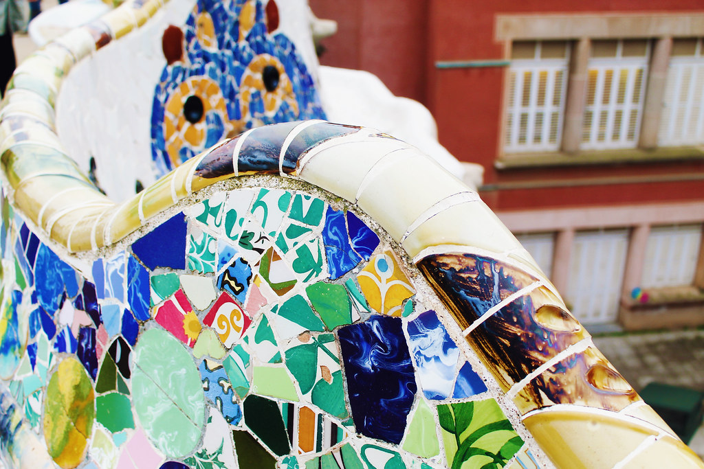 Drawing Dreaming - visitar Barcelona - Park Guell