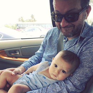 My handsome men 😘 #latergram | by rufie c