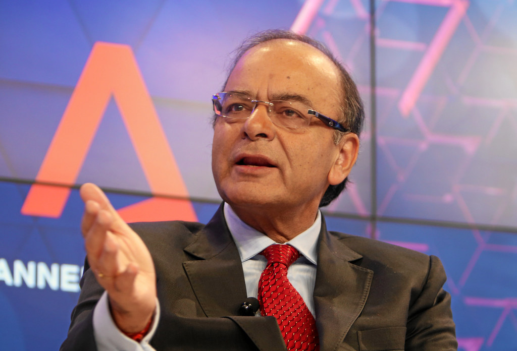 Finance Minister Arun Jaitley announced GST earnings cross target in maiden month Rs 92,283 crore collected in July