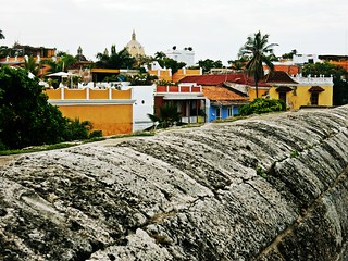 Cartagena de Indias from the city wall | by pacoalfonso