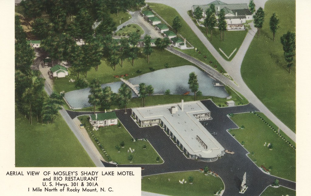 Mosley's Shady Lake Motel & Rio Restaurant - Rocky Mount, North Carolina