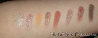 eyeshadow swatches | by MyGlitteryObsessions