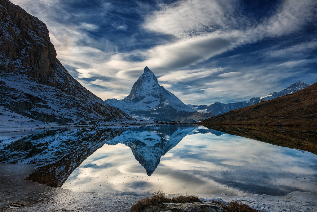 reflecting pool explored march 28th 2016 the matterhorn flickr