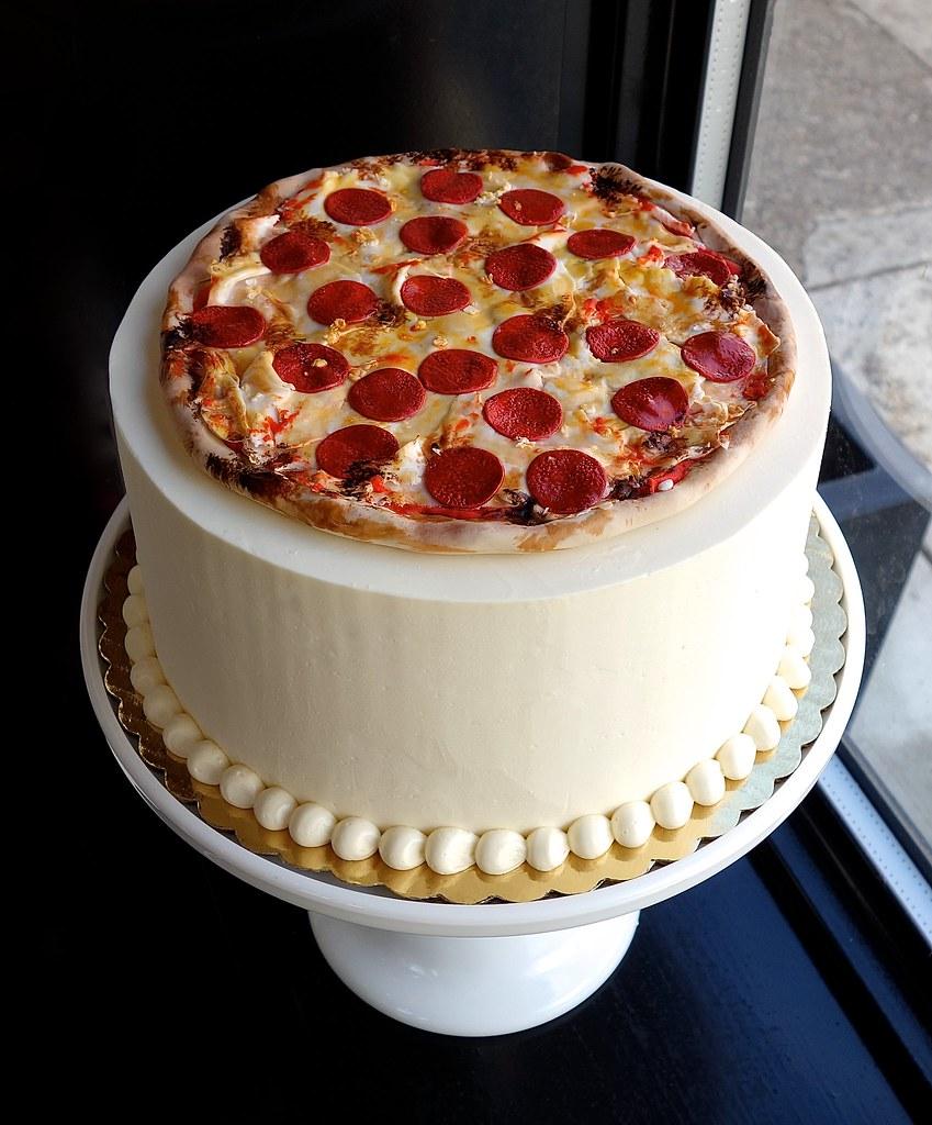pizza birthday cake Pepperoni Pizza Birthday Cake | Sasa | Flickr pizza birthday cake