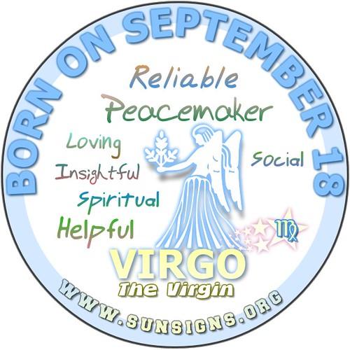 September 18 Birthday Horoscope Personality