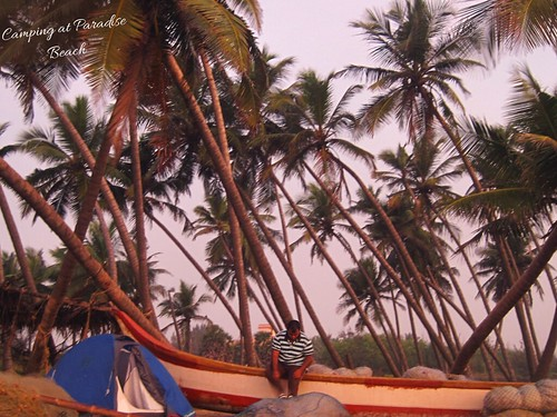 Camping at Paradise Beach, Pondicherry | by wanderingjatin