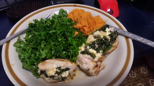 hello fresh feta stuffed chicken breast | by phonakins