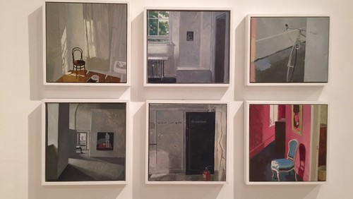 Small paintings on gesso board in my show at Long&Ryle Pimlico, London | by Mark Entwisle