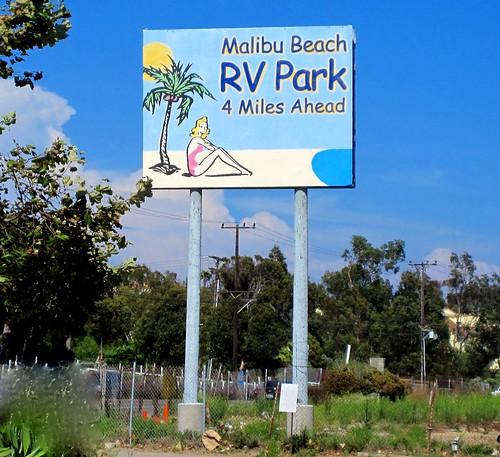 Malibu Beach Rv Park Sign Is Gone