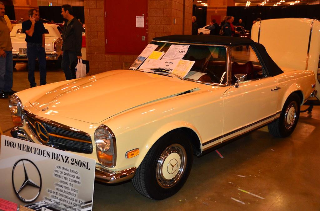 ... Chris Owensu0027 1969 Mercedes Benz 280SL   Atlantic City Car Auction | By  Sabreur76