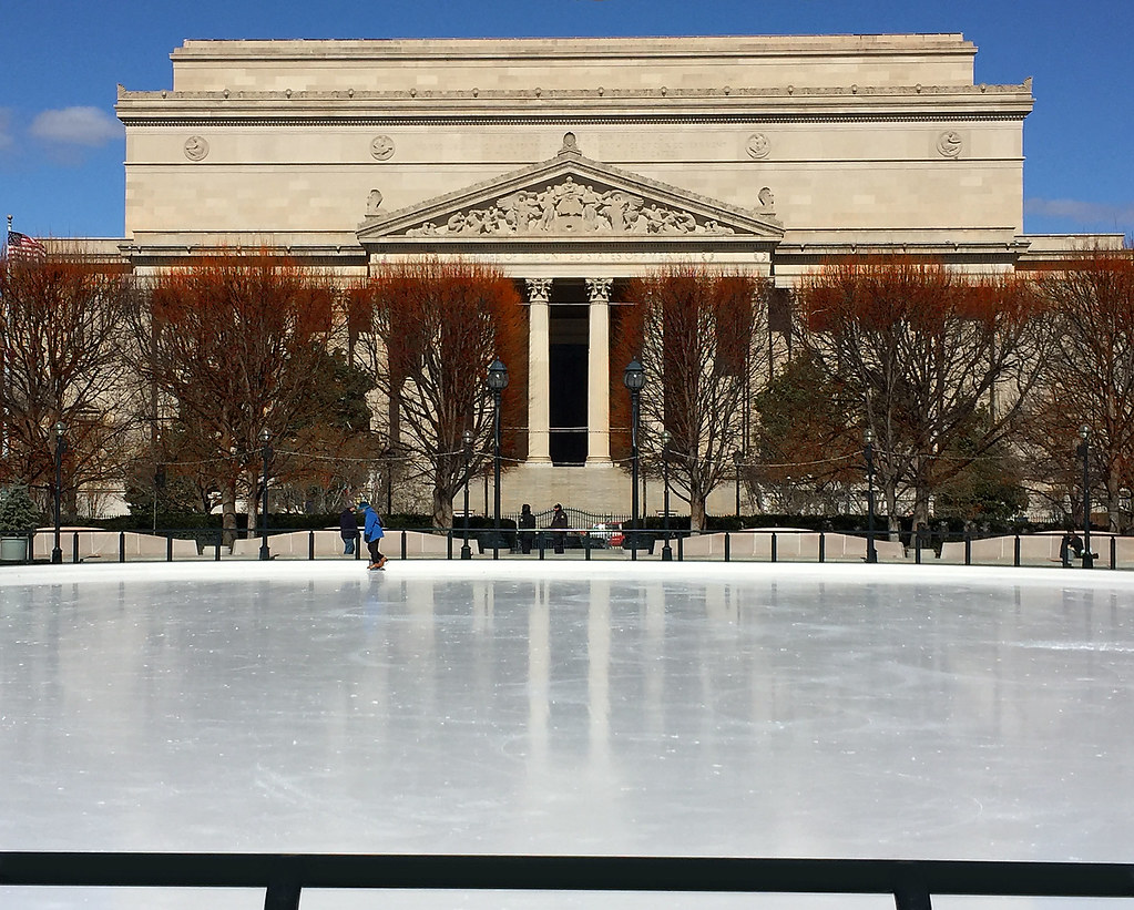 Ice Skating Rink -- National gallery Sculpture Garden (DC)… | Flickr