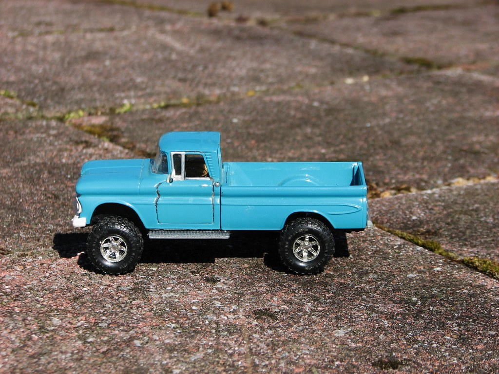 My Custom Made 1 43 Scale 1961 Chevy Apache 10 4x4 In Marc Flickr Pickup Truck March 2016