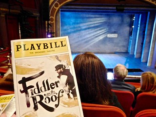 Ready for the show, Fiddler on the Roof, Broadway | by Tatiana12