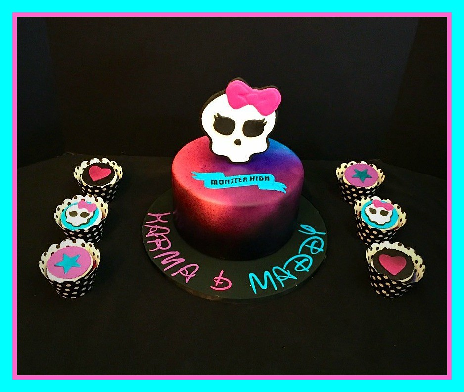 Monster High Cake By Amy Northern Utah Birthdaycakes Flickr