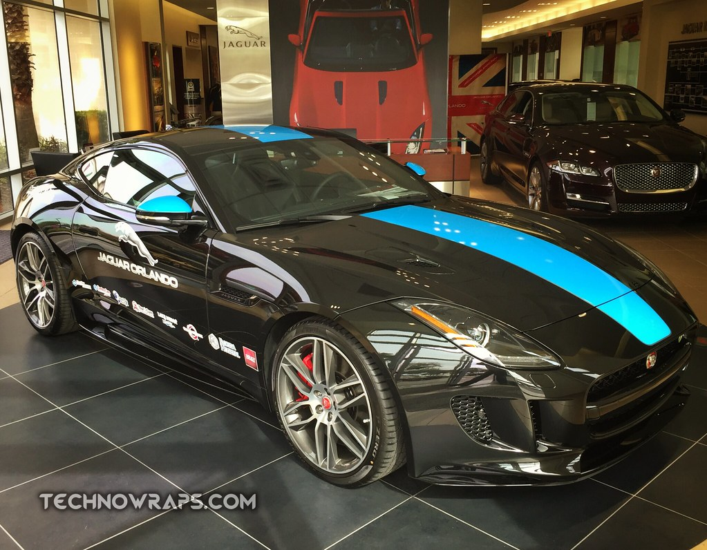 ... Car Graphics U0026 Stripe On Jaguar In Orlando | By TechnoWraps