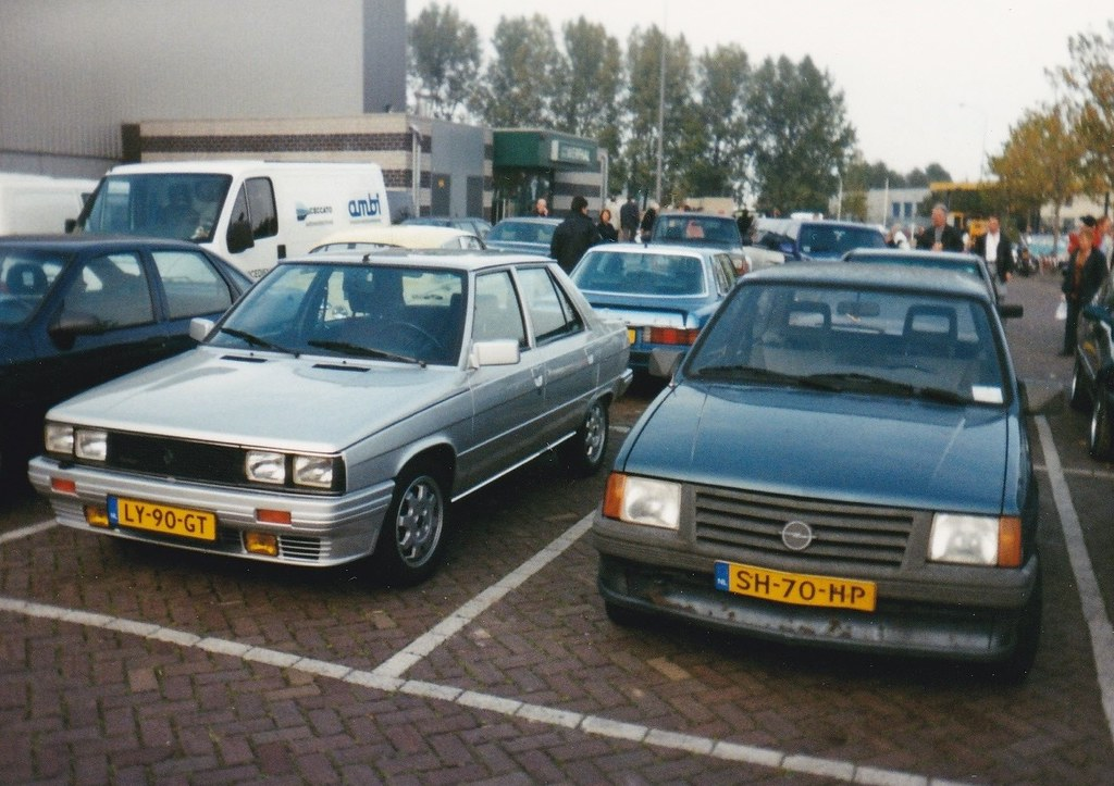 renault 9 turbo 12 4 1985 ly 90 gt this was in leiden nl flickr