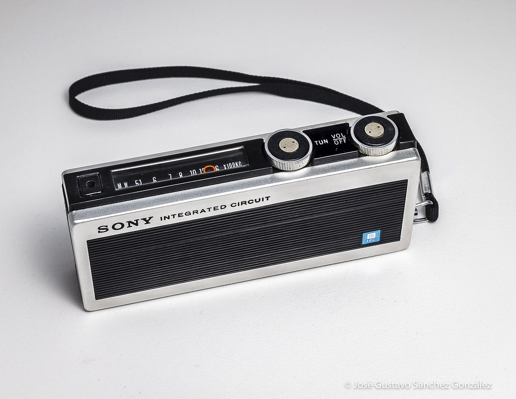 Sony Integrated Circuit Radio Icr 200 Circa 1968 Made In Flickr An Japan