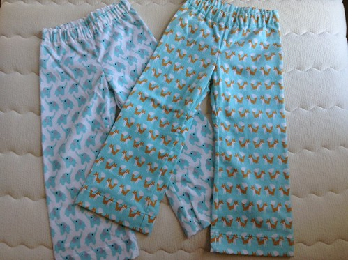Parsley PJ's out of Rae's Cloud9 flannel | by mhc868