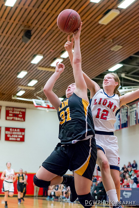 Foran High vs. Jonathan Law - High School Girls Basketall