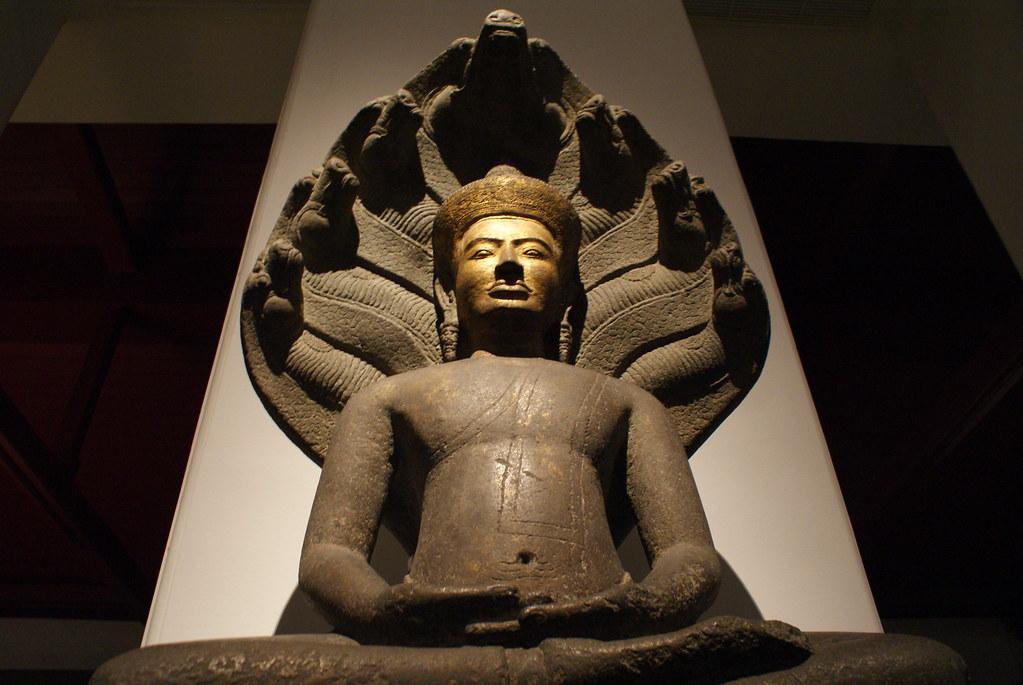 Bangkok : Musée National de Thailande - Vanupied