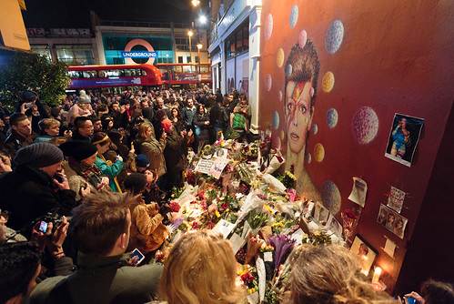 David Bowie memorial, Brixton | by Sebastian Anthony