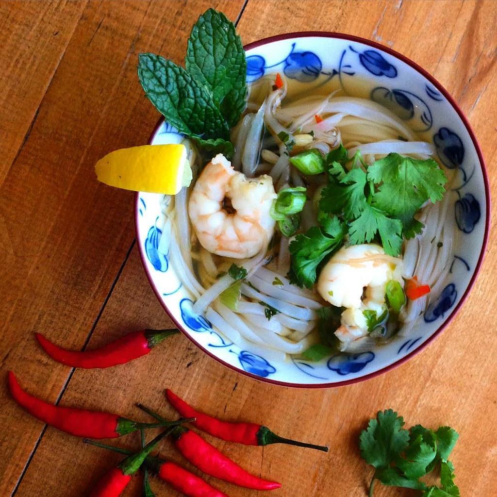 Vietnamese shrimp pho | StefT | Flickr