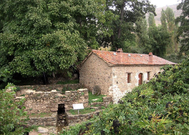 Traditional Watermill in Agios Germanos, Prespes, GREECE